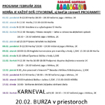 program februar 2016